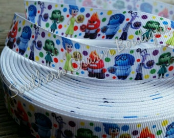 3 yards of inside out grosgrain ribbon 7/8