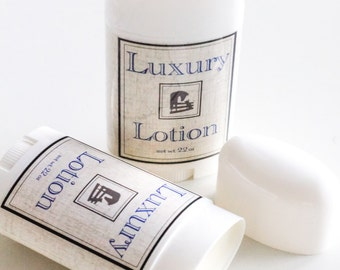 Large Luxury Lotion Sticks - 2oz Solid Lotion Bars, All Natural