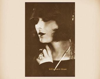 Silent Film Actress Pola Negri New 4x6 Vintage Image Photo Print SD251