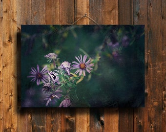 Purple - Purple Flower Photography - Purple flower art - Purple flower canvas art - Purple flower wall art