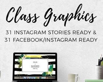 Class Graphics - Oils + Summer || Downloads