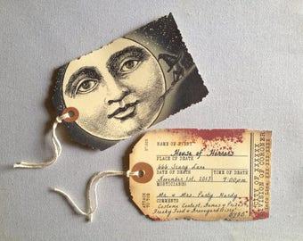 Custom Invitations Halloween Wedding Birthday - Bewitching Moon - Digital