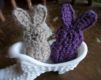 Waldorf toy bunnies,  price for 2, Alpaca,  Easter, Marshmallow bunny, Waldorf Animal, Waldorf Bunny