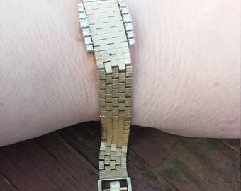 14k Gold Diamond Women's Wrist Swiss Watch Girard Perregaux 34.8 Grams