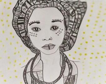 Culture Trip Portrait Fine Art Print