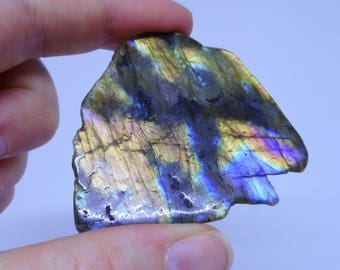 Labradorite piece C -crystals and gemstone for healing - reiki and full moon charged