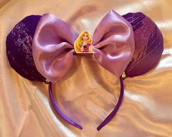 Rapunzel Ears, Tangled Ears, Rapunzel Tangled Costume, Princess Ears,  Rapunzel Headband Mouse Ears, Ready to ship