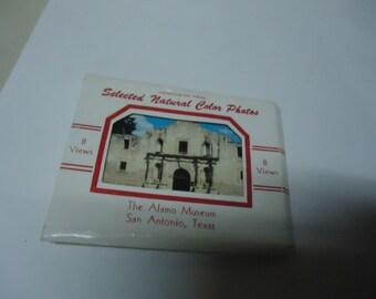 Vintage Selected Natural Color Photos The Alamo Museum, San Antonio Texas, 8 views, collectable