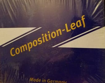 Composition metal-leaves Unopened  500 pack.
