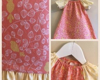 "Spring Dresses -""Yellow Birds"""