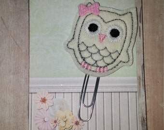 Pastel Owl Planner Clip   Paperclip Bookmark    Bookmark    Paperclip   Planner Bookmark   Paperclip Bookmark   Planner Clips