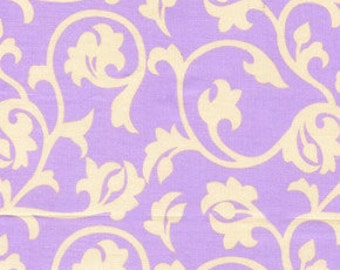 01576  Annette Tatum Fall House  Pool in Lilac color- 1/2 yard