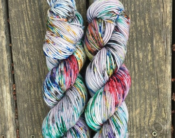 In for a Penny // Super Sheepy DK // Speckled Yarn // Speckled Sock Yarn