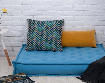 """5"""" Tufted Cotton-filled Floor Cushion 