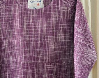 Hand-spun and handwoven khadi  kurta , khadi fabric , hand-loom cotton  , khadi garment .