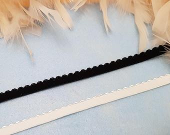 """2 m • """"Wavy"""" lingerie elastic"""