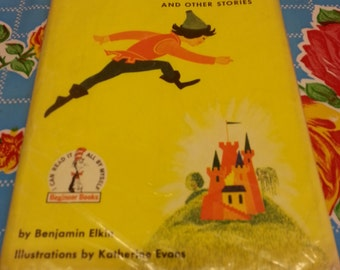 1960s The Big Jump and Other Stories by Benjamin Elkin, hardcover