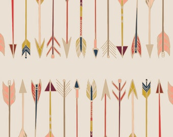 Fletching Chant - Wild & Free Collection by Maureen Cracknell Art Gallery Fabrics - Premium Cotton Quilting Fabric One Yard Fabric