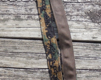 US Marine Woodland Camo Girlfriend Lanyard  Military Embroidered Lanyard US Marine Armed Forces Lanyard
