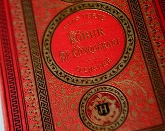 Jules Verne, Voyages extraordinaires, ROBUR LE CONQUÉRANT, first edition 1886, France