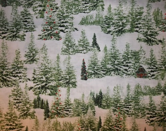 Home for the Holiday 100% Cotton Fabric #196