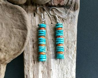 Native American Jewelry ,American Indian Jewelry,Turquoise Earrings