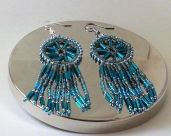 Seaform Dreamcatcher Earrings