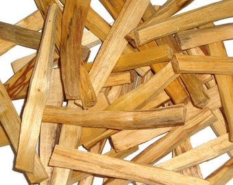 Palo Santo sticks wholesale - Holy Wood natural incense ideal for smudging, cleansing, negativity clearing, fragrance - Free Shipping!!