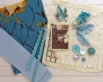mini inspiration kit No0042 - blue