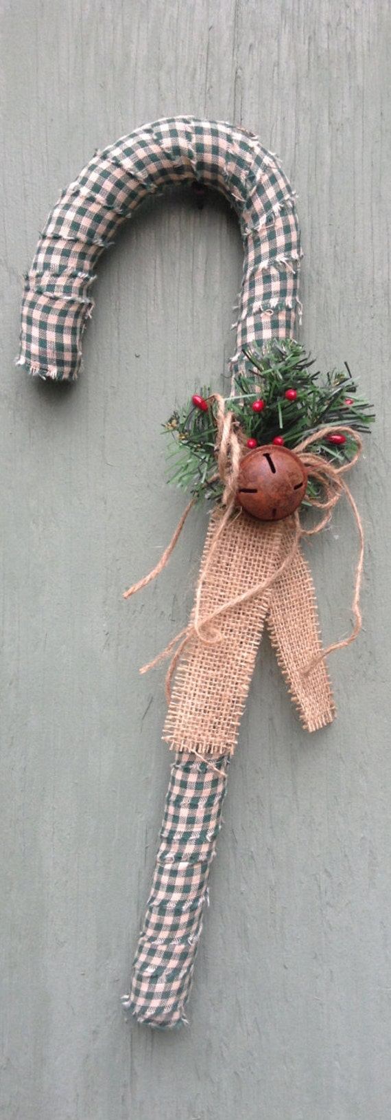 Like this item Primitive fabric wrapped candy