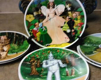 Wizard of Oz Collection  Limited Edition of The Wonderful Wizard of Oz Collection Plate Set of Seven