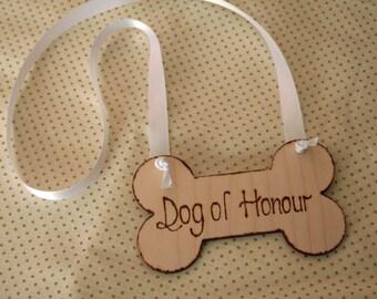 Dog of Honour Wedding Dog Collar Pet collar Wedding accessory for Pets
