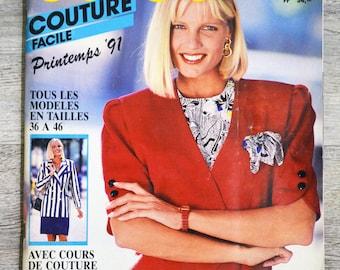 Burda easy 1/1991 - spring 91 sewing magazine