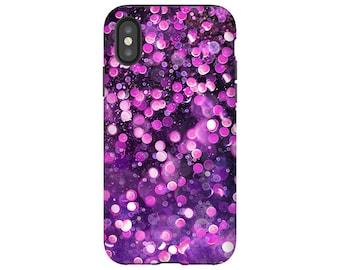 glitter phone case, spring phone case, samsung s9 case glitter, purple phone case, phone cases, phone cover, samsung galaxy S9 Plus case