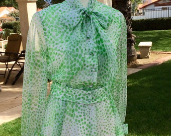 Vintage Chiffon dress