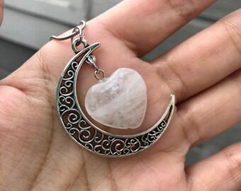 Heart of the Moon Clear Quartz