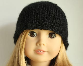 Black Doll Hat For American Girl Dolls/ag Dolls 18 Inch
