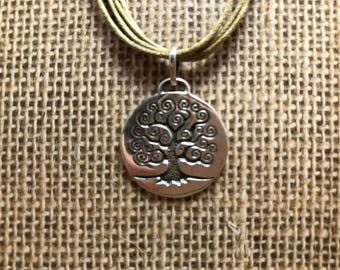 Sterling Silver (.925) Tree of Life Pendant Necklace for Recovery