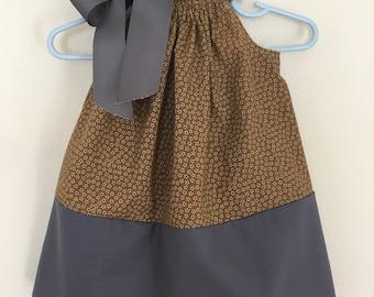 Girls pillowcase dress size 9-12 months