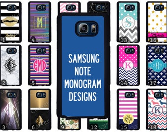 Choose from 70 Monogram / Personalized Designs Samsung Galaxy Note 8 Phone Case. Note 5 Phone Case. Note 5 Edge Phone Case. Note Phone Case
