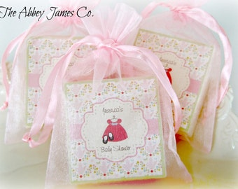 Baby Shower Favors, Party Favors, Soap Favors, Baby Girl Favors, Baby Sprinkle, set of 10