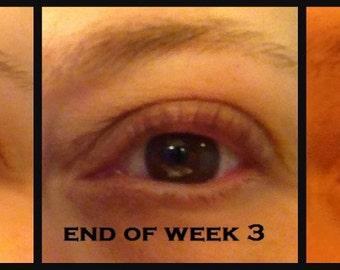 Organic Lash Serum - Promotes Eyelash Growth and Thickness; Works on Eyebrows