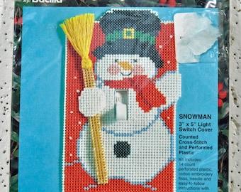 Cross Stitch Kit - Snowman