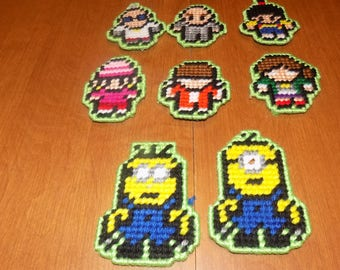 minion tiny people magnets (8)