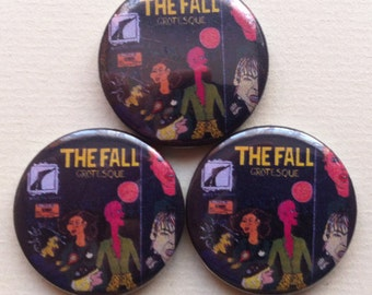 "The Fall ""Grotesque"" Pinback Button"