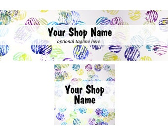 Funky Shop Cover and Shop Icon - Random1
