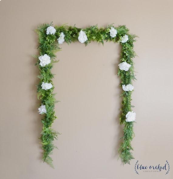 Wedding Flower Garlands: Wedding Garland Wedding Backdrop Flower Garland Greenery