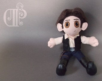 Han Solo Star Wars Plush Doll Plushie Toy
