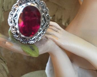6CT Ruby Ring