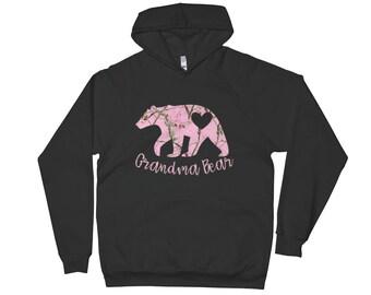 Grandma bear Hoodie, glamma hoodie, grandma sweater, grandma hoodie